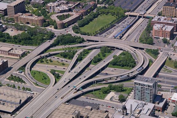 Chicago Highway Interchange