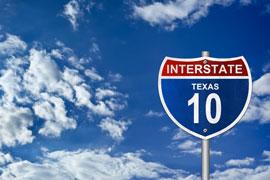 Interstate Highway Sign